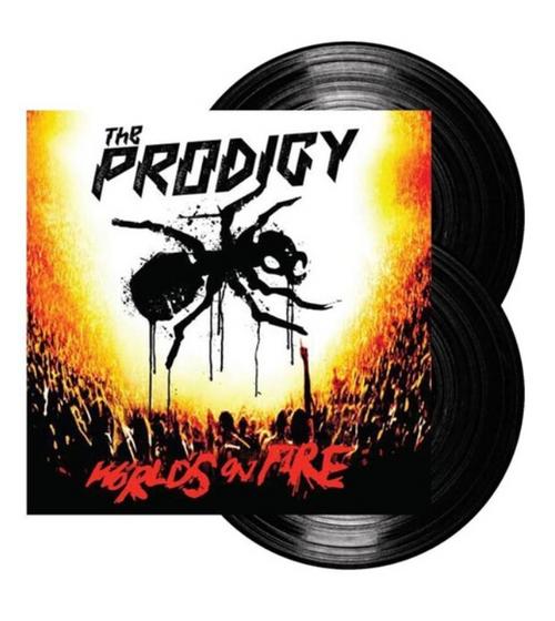 The Prodigy – Live - World's On Fire.   (2 × Vinyl, LP, Album)