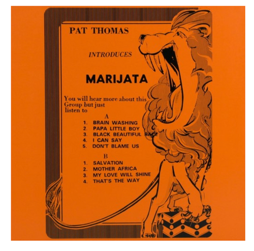Pat Thomas  Introduces Marijata ‎– Pat Thomas Introduces Marijata   (Vinyl, LP, Album,  180 Gram)