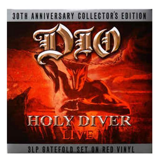 Dio  – Holy Diver Live    (3 × Vinyl, LP, Album, Reissue, Red)