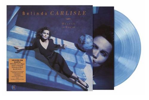 Belinda Carlisle – Heaven On Earth    (Vinyl, LP, Album, Limited Edition, Reissue, Blue Translucent)