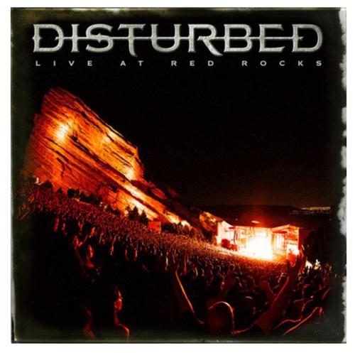 Disturbed – Live At Red Rocks    (2 × Vinyl, LP, Album)