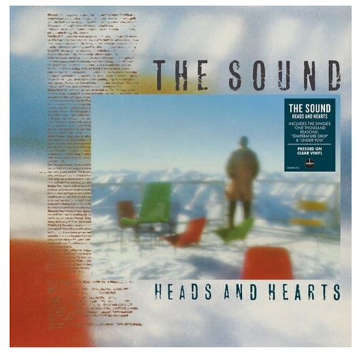 The Sound  ‎– Heads And Hearts    (Vinyl, LP, Album, Limited Edition,  Stereo, Clear)