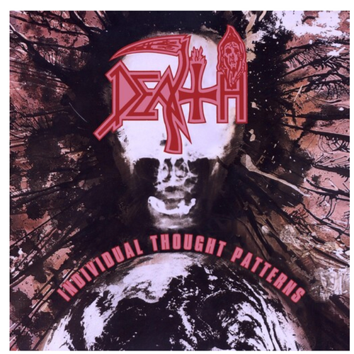 Death  ‎– Individual Thought Patterns.   ( Vinyl, LP, Album, Pinwheels Clear with White and Baby Pink, Blood Red and Swamp Green Splatter)
