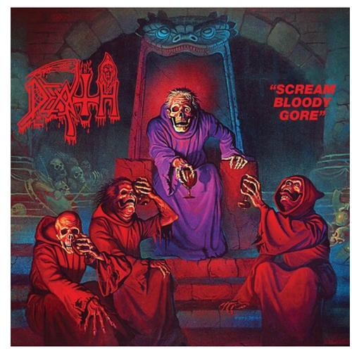 Death  – Scream Bloody Gore.   (Vinyl, LP, Album)
