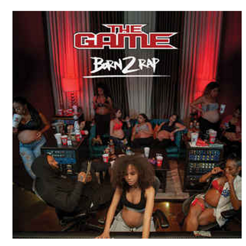 The Game  ‎– Born 2 Rap.   (3 × Vinyl, LP, Limited Edition, Stereo, Red, White, Blue)