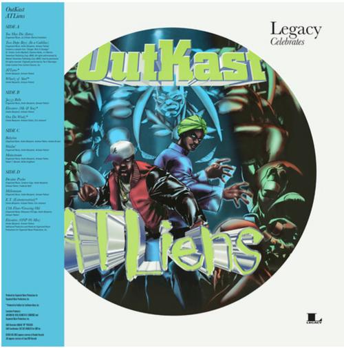 Outkast - ATLiens ( 2 × Vinyl, LP, Album, Picture Disc, Reissue)