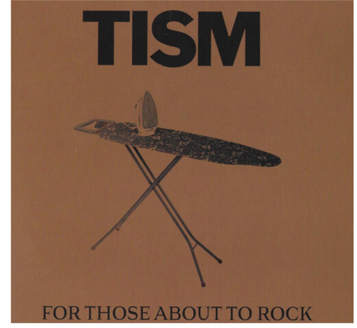 "TISM ‎– For Those About To Rock.   (Vinyl, 7"", 45 RPM, Single, Brown)"
