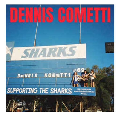 Dennis Cometti – Dennis Cometti.   (Vinyl, LP, Album, Blue/White Split)