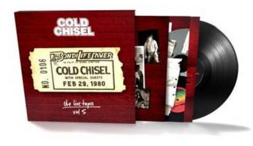 Cold Chisel ‎– The Live Tapes Vol.5.   (Vinyl, LP, Album)