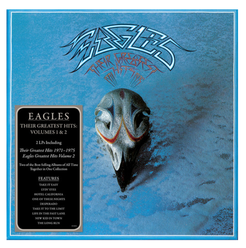 Eagles – Their Greatest Hits Volumes 1 & 2.   (2 x Vinyl, LP, Compilation)