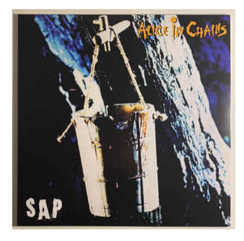"Alice In Chains ‎– Sap.    ( Vinyl, 12"", 33 ⅓ RPM, Single Sided, EP, Etched)"