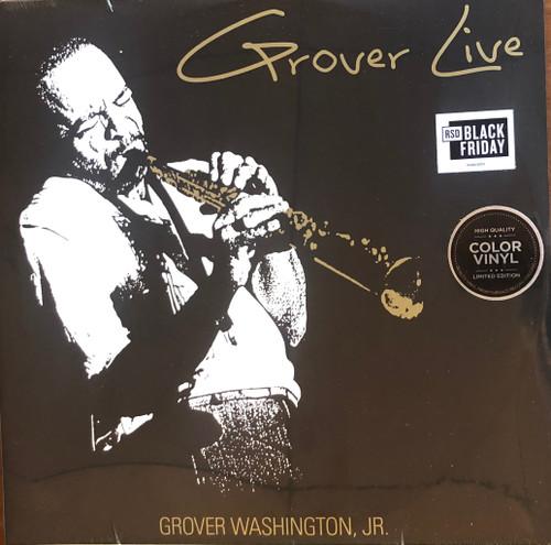 Grover Washington, Jr. – Grover Live.   ( Vinyl, LP, Limited Edition)
