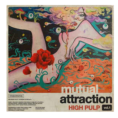 """High Pulp – Mutual Attraction Vol. 1.   (Vinyl, 12"""", 33 ⅓ RPM, Limited Edition)"""