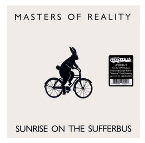 Masters Of Reality – Sunrise On The Sufferbus.   (Vinyl, LP, Album, Limited Edition, Natural)