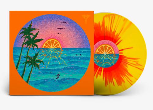 Various – Jazz Dispensary: Orange Sunset.   (Vinyl, LP, Limited Edition, Yellow Starburst)