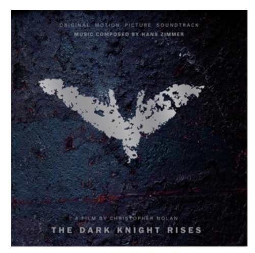 The Dark Knight Rises - Original Motion Picture Soundtrack - Hans Zimmer (Vinyl, LP, Album, Limited, Numbered, Clear Red Blue Marbled)