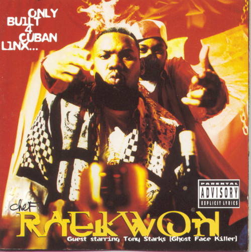 Chef Raekwon - Only Built 4 Cuban Linx... (2 × Vinyl, LP, Album, Reissue, 180 Gram)