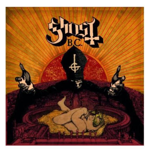 Ghost B.C. – Infestissumam.   (Vinyl, LP, Album, Red Translucent)