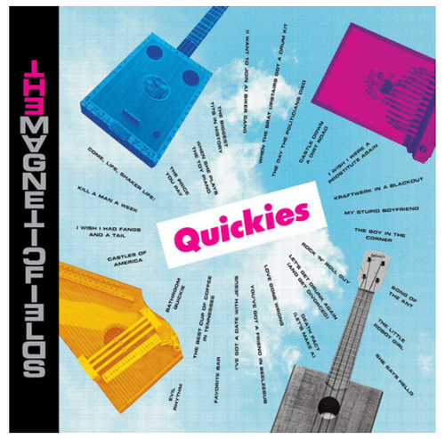 RSD 2020 The Magnetic Fields ‎– Quickies.    ( Vinyl, LP, Album, Limited Edition, Reissue, Transparent Magenta)