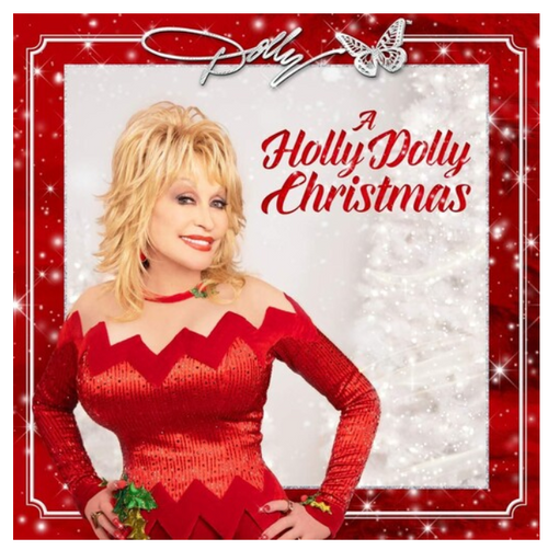 Dolly ‎– A Holly Dolly Christmas.   ( Vinyl, LP, Album, Red)