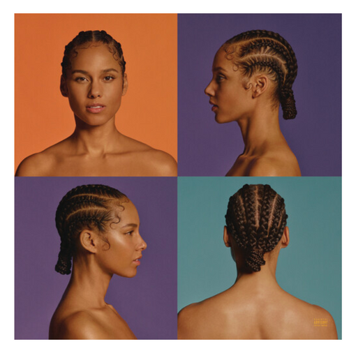 Alicia Keys ‎– Alicia.    (2 × Vinyl, LP, Album, Limited Edition, White)