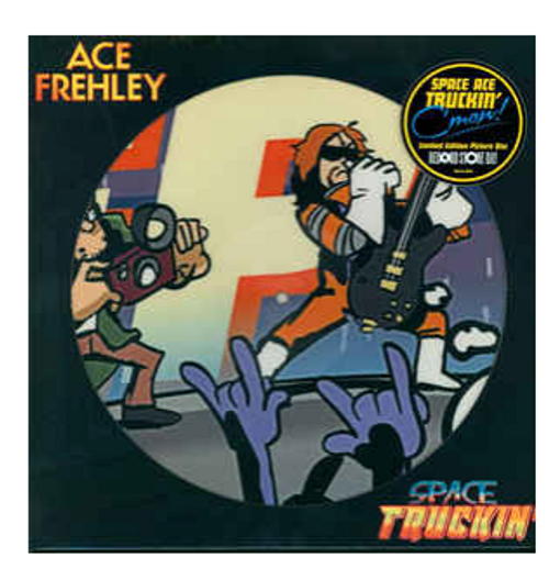 "Ace Frehley ‎– Space Truckin'.   (Vinyl, 12"", 45 RPM, Picture Disc)"