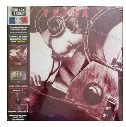 Tesla – The Great Radio Controversy.     (Vinyl, LP, Album, Limited Edition, Reissue, Violet, Translucent)