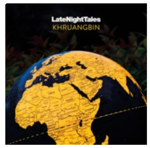 Various ‎– LateNightTales -  Khruangbin      (2 × Vinyl, LP, Compilation, Limited Edition, Numbered, Orange, 180g)