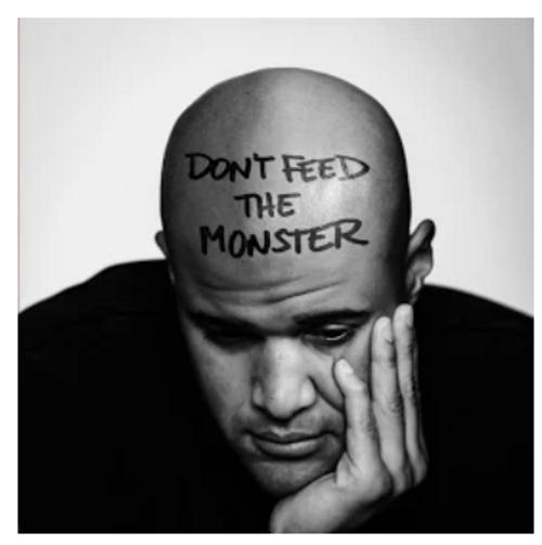 Homeboy Sandman – Don't Feed The Monster.   (Vinyl, LP, Album)