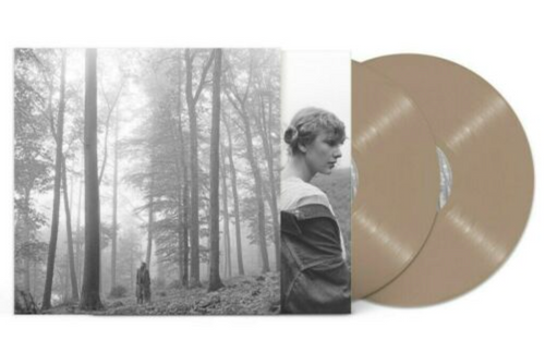 "Taylor Swift ‎– Folklore.  (2 × Vinyl, LP, Album, Deluxe Edition, Brown ""In The Trees"")"