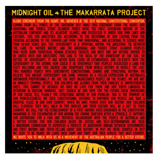 Midnight Oil – The Makarrata Project.   ( Vinyl, LP, Mini-Album, Limited Edition, Yellow)