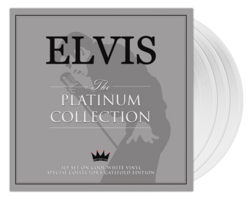 Elvis Presley – The Platinum Collection.   ( 3 x Vinyl, LP, Compilation, Special Edition, White)