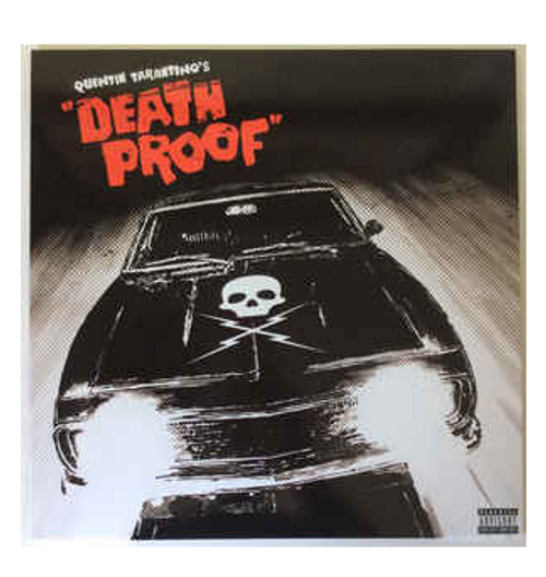 Death Proof - Quentin Tarantino's  Original Soundtrack.   (Vinyl, LP, Album, Compilation, Various)