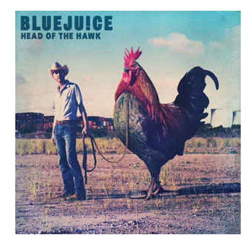 Bluejuice ‎– Head Of The Hawk.   (Vinyl, LP, Album, Limited Edition, Reissue, Blue)