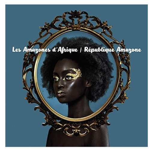 Les Amazones d'Afrique – République Amazone.   (Vinyl, LP, Album, Turquoise)