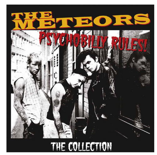 The Meteors  – Psychobilly Rules - The Collection.   (2 × Vinyl, LP, Compilation)