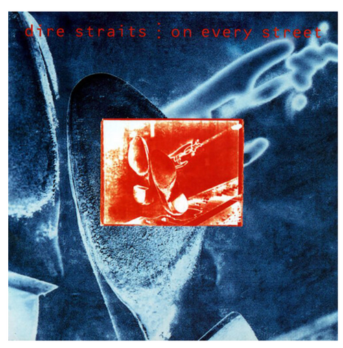 Dire Straits – On Every Street.   (2 × Vinyl, LP, Album, 180ɢ)