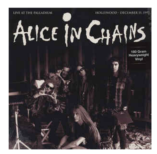 Alice In Chains – Live At The Palladium Hollywood 1992. (Vinyl, LP, White, 180 Gram)