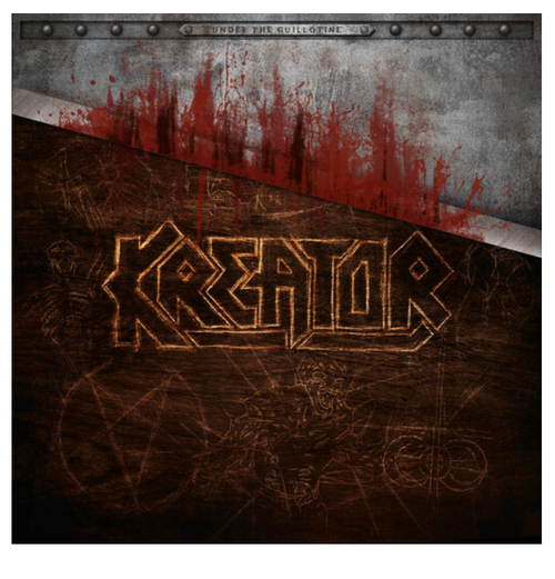 Kreator ‎– Under The Guillotine.   (Box Set, 6x LP, Book, Cassette, USB Drive Figurine)