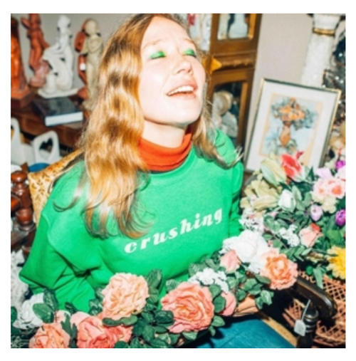 Julia Jacklin ‎– Crushing    (Vinyl, LP, Album,  Special Edition,  Clear Green and White Splatter)