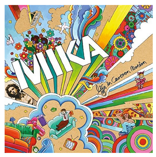 MIKA  ‎– Life In Cartoon Motion.   (Vinyl, LP, Album)
