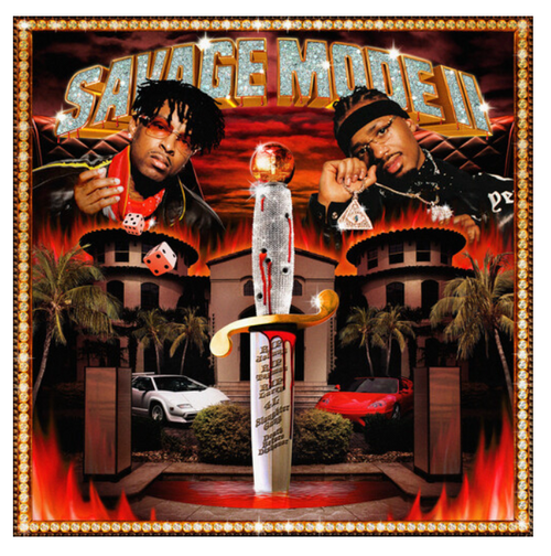 21 Savage & Metro Boomin – Savage Mode II.   (Vinyl, LP, Album, Limited Edition, Translucent Red)