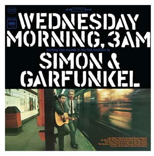 Simon & Garfunkel – Wednesday Morning, 3 A.M.    (Vinyl, LP, Album)
