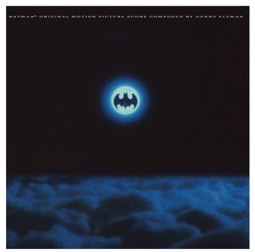 Batman - Original Motion Picture Score -Danny Elfman     (Vinyl, LP, Album, Limited Edition, Reissue, Turquoise)