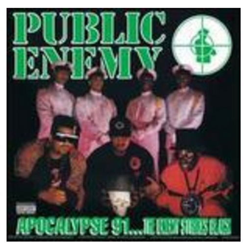 Public Enemy – Apocalypse 91... The Enemy Strikes Black.    (2 × Vinyl, LP, Album, Reissue, Green Translucent, Gatefold)