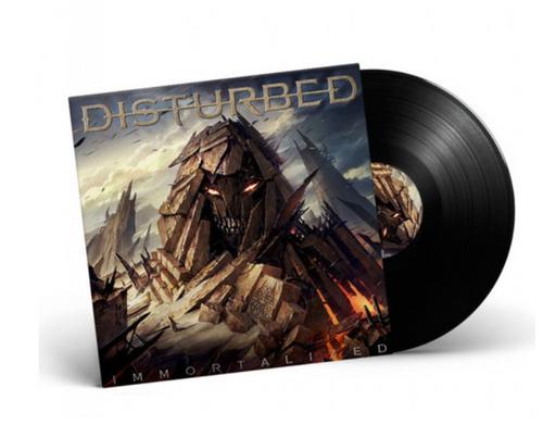 Disturbed – Immortalized.   (Vinyl, LP, Album)