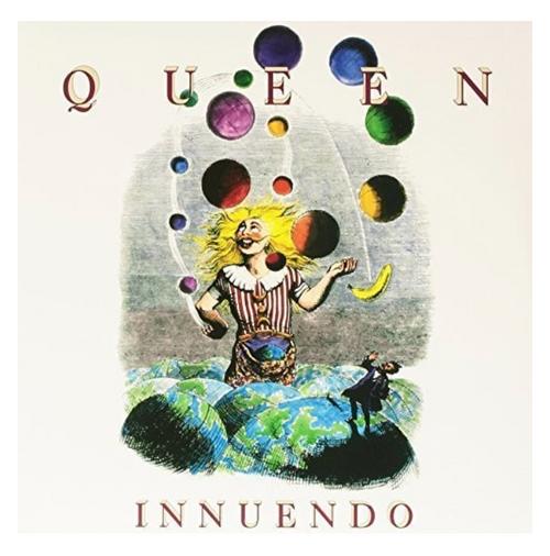 Queen – Innuendo.   (2 × Vinyl, LP, Album,  Gatefold)