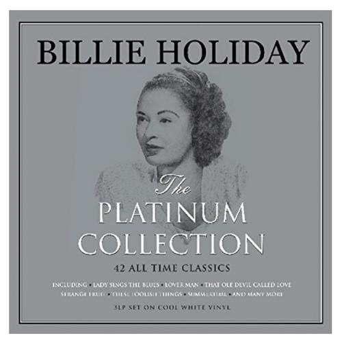 Billie Holiday – The Platinum Collection.    (3 × Vinyl, LP, Compilation, White)