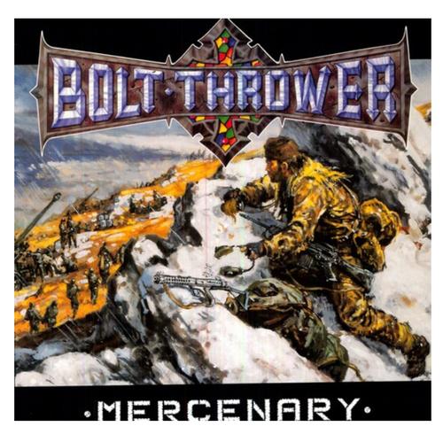 Bolt Thrower – Mercenary.   (Vinyl, LP, Album, Orange Marbled)