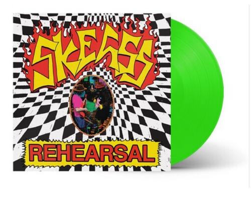 Skegss - Rehearsal.   (Vinyl, LP, Album, Fluro Green)